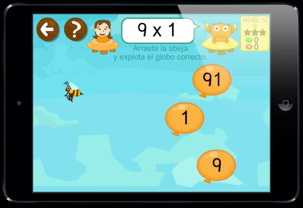 Juegos para aprender a multiplicar y dividir