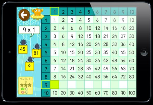 de multiplicar - TIKIMATES app multipllicar dividir