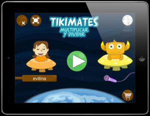 App para aprender las tablas de multiplicar y dividir