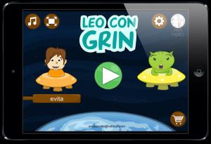 """""""Leo con Grin"""" aplicación con juegos para aprender a leer en PDI, Android y iOS"""