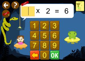 tablas multiplicar matemáticas app Primaria