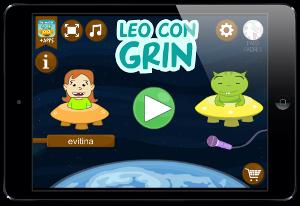 Leo con Grin app lectura infantil