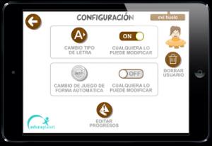 Usuario configuración