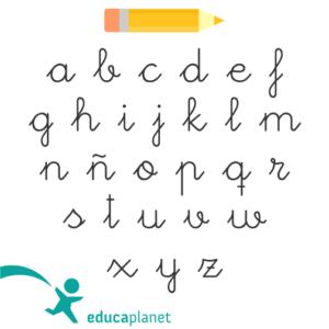 letra aprender a leer con letra enlazada LEO CON GRIN
