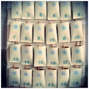 Calendario de Adviento DIY manualidades Navidad
