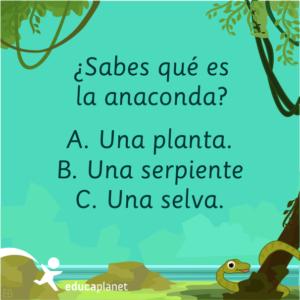 Serpiente anaconda curiosidades animales