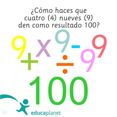Acertijo Matemático Pasatiempos Enigmas Con Operaciones