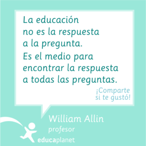 William Allin citas quotes educación