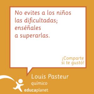 Pasteur cita dificultades niños