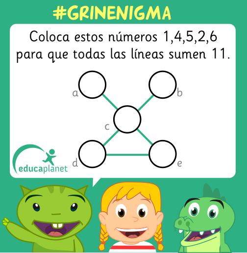 reto de sumas matematicas