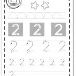 Ejercicios de escribir primeros números:2 grafomotricidad