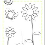 Primavera flores - actividad