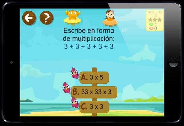 Problemas de las tablas de multiplicar y dividir