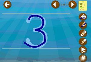 Aprender a escribir números