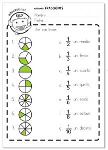 Fracciones decimales ejercicios de matemáticas Primaria GRATIS ...