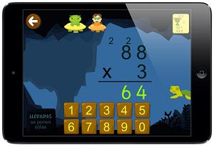 Aprender matemáticas 7 años app juegos