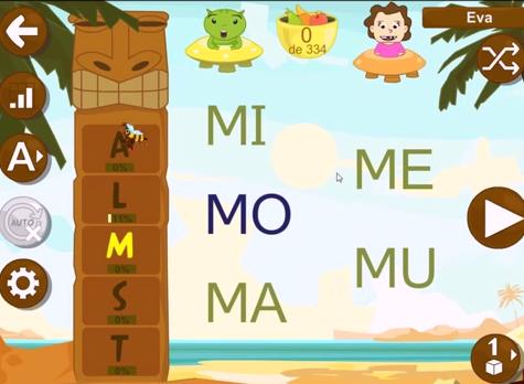Aprender a leer - vídeos presentación sílabas