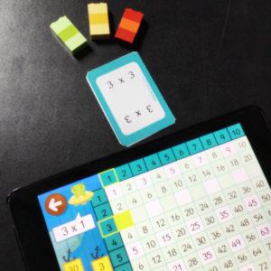 flahscards tablas multiplicar formas de juego