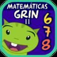Matemáticas con Grin 678 juegos app