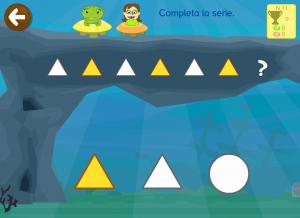 Ejercicios de series lógicas Primaria e Infantil