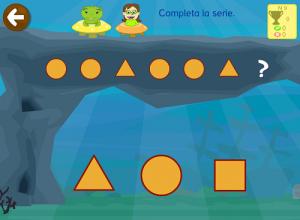 ejercicios de series lógicas matemáticas Primaria