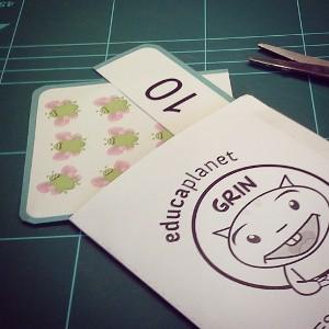 cartas Gratis contar números preescolar