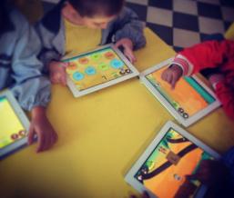 Aprender a leer con aplicaciones colegio