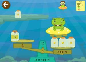 aprender números relaciona grafia y cantidad