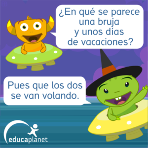 Chiste brujas
