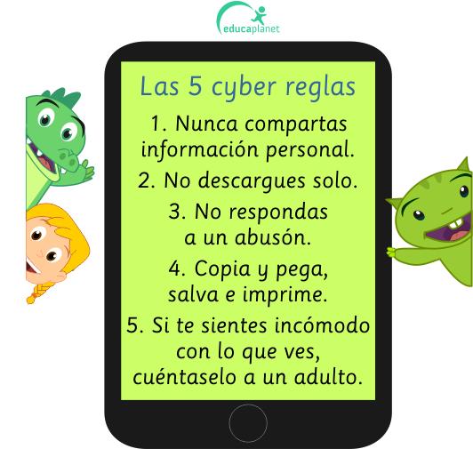 ciberseguridad 5 reglas