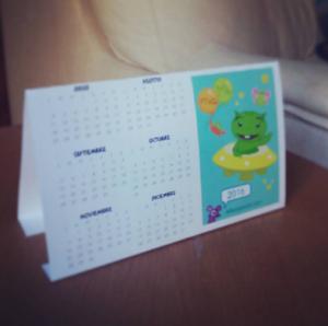 calendario 2016 mesa