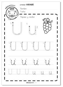 Vocales aprender a leer y escribir may sculas y min sculas for Aeiou el jardin de clarilu mp3
