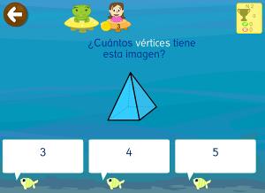 geometría app figuras 3d vértices