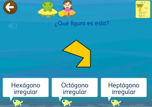 geometría figuras geométricas app infantil