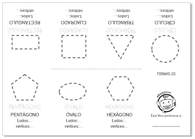 Ficha de polígonos y formas básicas