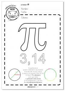 numero pi matematicas primaria