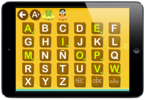 Aprende a escribir el abecedario