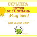 Diplomas de animación lectora