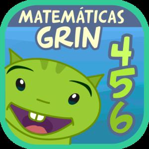 Matemáticas con Grin 456 juegos