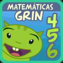 Matemáticas con Grin 456 app juegos