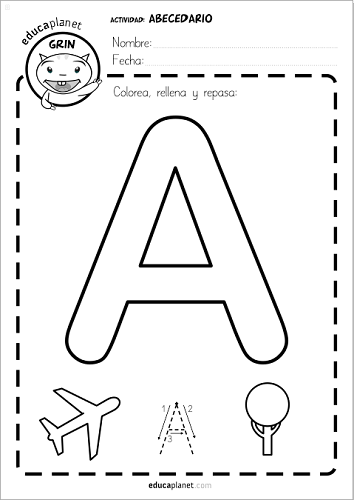 juegos para aprender a leer en casa o en el aula con el abecedario ...