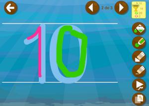 aprender números app infantil
