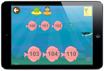 series numéricas app matemáticas Primaria