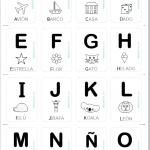 abecedario tarjetas imprimible gratis mayúscula