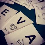 abecedario tarjetas letras leer