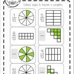Fracciones decimales ejercicios Primaria