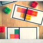 formas simetría lego