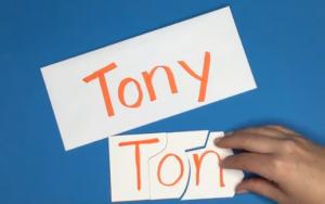 actividad nombre reconocer letras