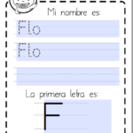 Ficha editable personalizable para tu nombre printable custom name