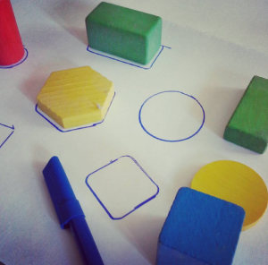 puzle formas preescolar actividades matematicas
